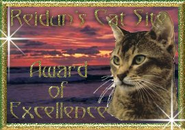 Reidun´s Cat Site Award